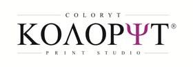 Логотип типографии Колорит coloryt